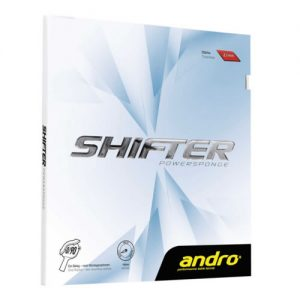 andro shifter powersponge revetement tennis de table