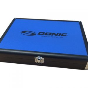 donic aluminium bat case blue