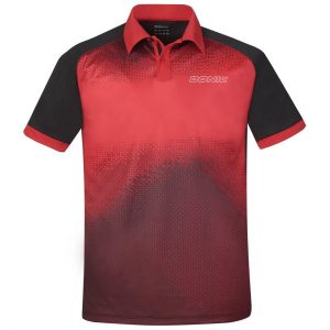 donic poloshirt blitz red front web