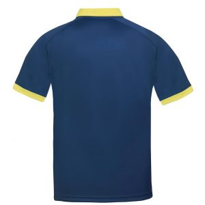 donic poloshirt blitz yellow rear web