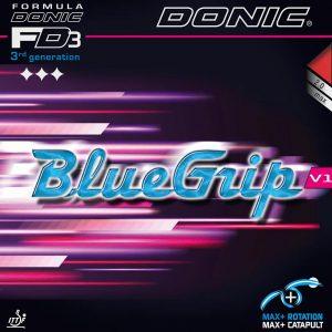 donic rubber bluegrip V1 cover web