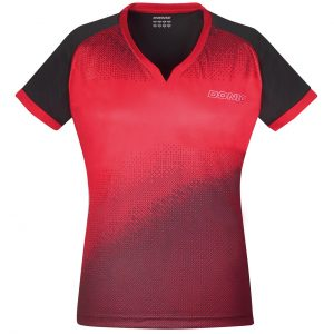 donic shirt ladies blitz red front web
