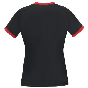 donic shirt ladies blitz red rear web