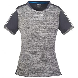donic shirt ladies melange pro anthracite front web