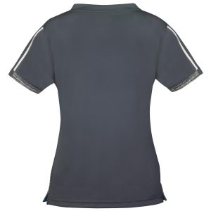 donic shirt ladies melange pro anthracite rear web