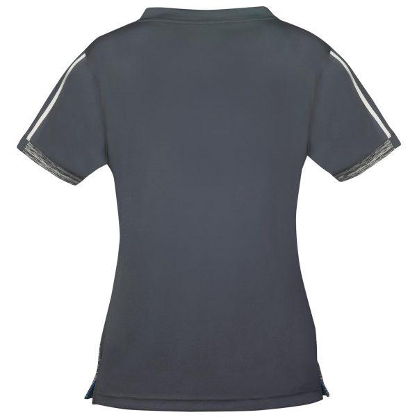 donic shirt ladies melange pro anthracite rear web