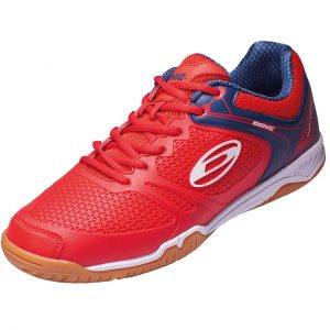 donic shoe ultra power II red side web