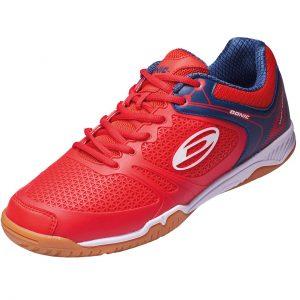 donic shoe ultra power II red side web
