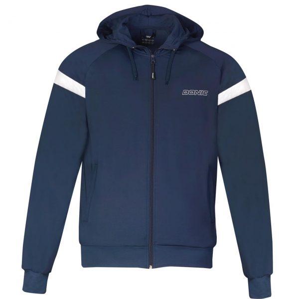 donic tracksuit jacket hype navy web