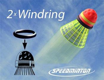speedminton windring