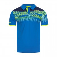 donic poloshirt clash blue front web 200x200